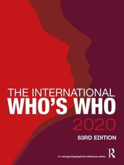 The International Who's Who 2020 - Europa Publications