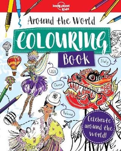 Around the world colouring book - Lonely Planet