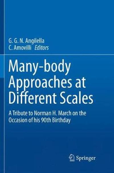 Many-body Approaches at Different Scales - G.G.N Angilella
