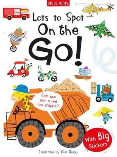 Lots to Spot Sticker Book: On the Go! - Amanda Askew