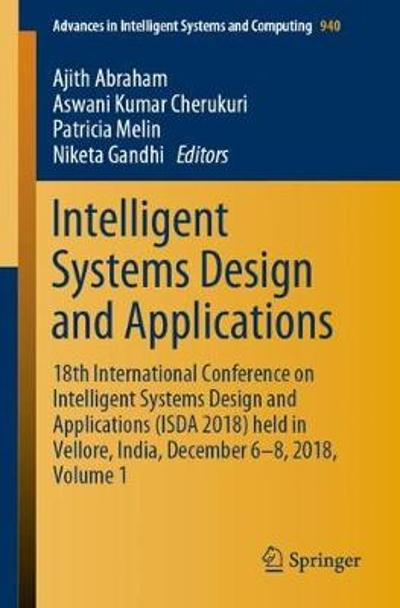 Intelligent Systems Design and Applications - Ajith Abraham