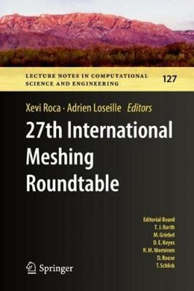 27th International Meshing Roundtable - Xevi Roca