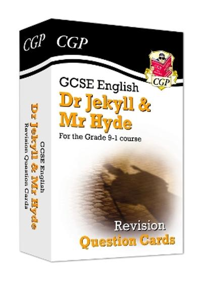 New Grade 9-1 GCSE English - Dr Jekyll and Mr Hyde Revision Question Cards - CGP Books