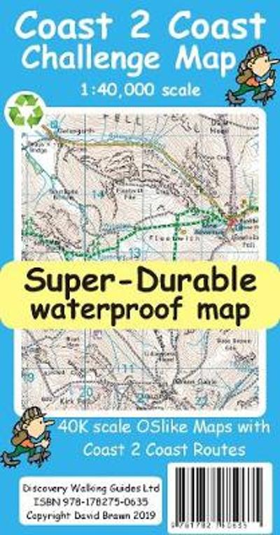 Coast 2 Coast Super-Durable Challenge Map - David Brawn