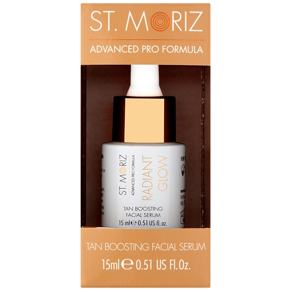 Radiant Glow - Tan Boosting Facial Serum - St. Moriz
