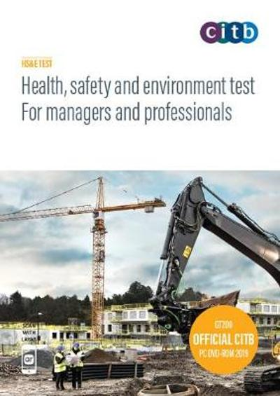 Health, safety and environment test for managers and professionals -