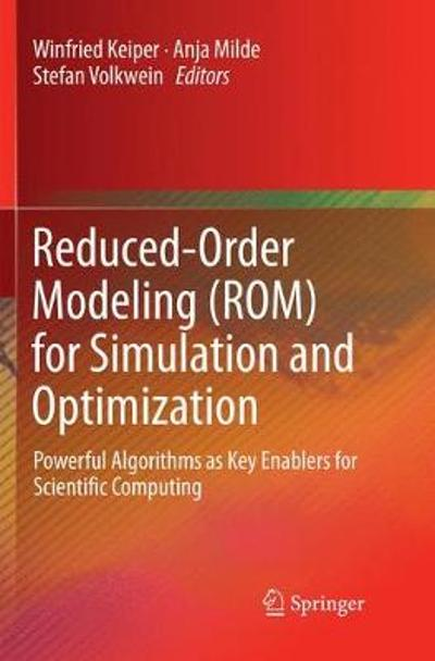 Reduced-Order Modeling (ROM) for Simulation and Optimization - Winfried Keiper