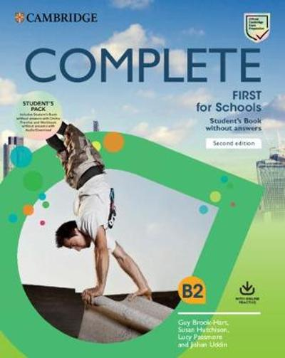 Complete First for Schools Student's Book Pack (SB wo Answers w Online Practice and WB wo Answers w Audio Download) - Guy Brook-Hart