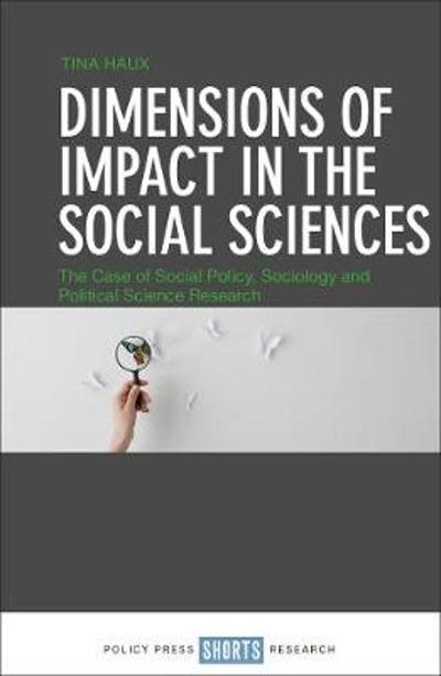 Dimensions of Impact in the Social Sciences - Tina Haux