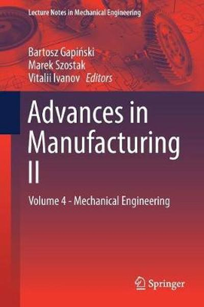 Advances in Manufacturing II - Bartosz Gapinski