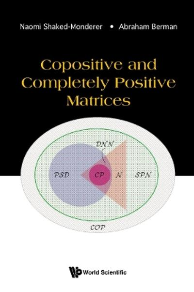Copositive And Completely Positive Matrices - Naomi Shaked-monderer