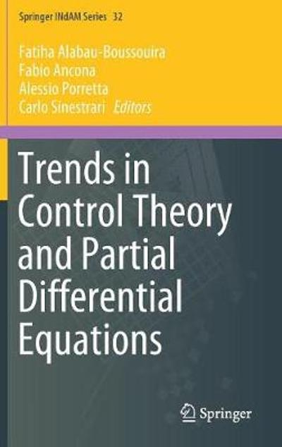 Trends in Control Theory and Partial Differential Equations - Fatiha Alabau-Boussouira
