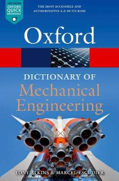 A Dictionary of Mechanical Engineering - Marcel Escudier
