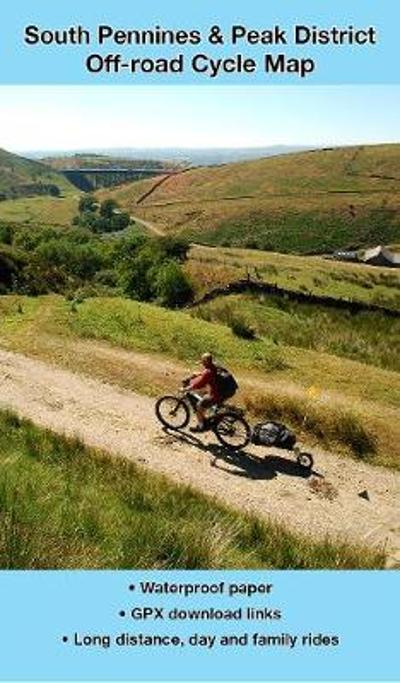 South Pennines and Peak District Off-road Cycle Map - Richard Peace