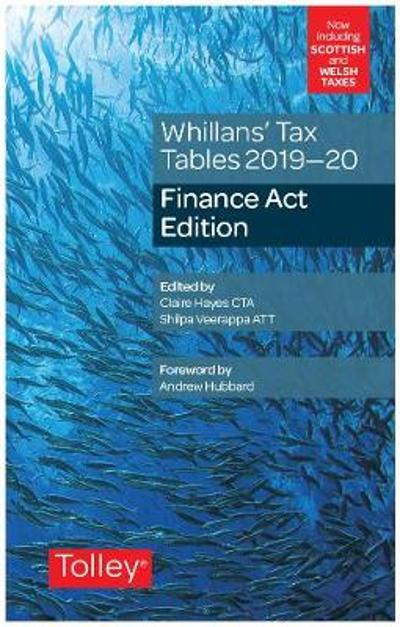 Whillans's Tax Tables 2019-20 (Finance Act edition) - Claire Hayes