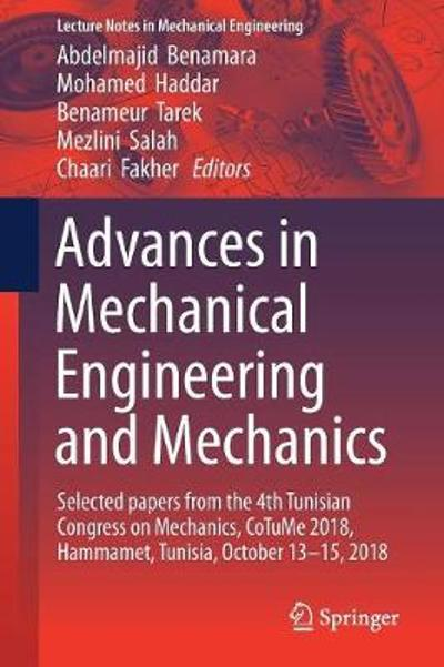 Advances in Mechanical Engineering and Mechanics - Abdelmejid Benamara