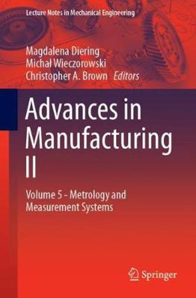 Advances in Manufacturing II - Magdalena Diering