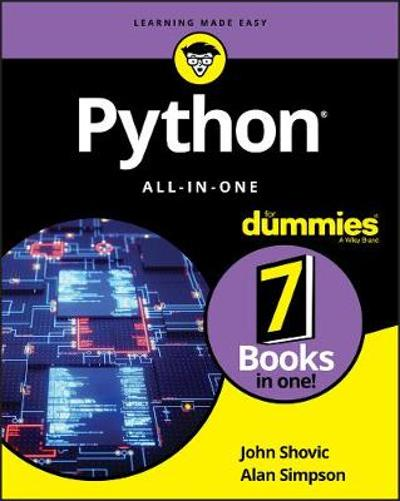 Python All-in-One For Dummies - John Shovic