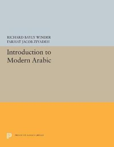 Introduction to Modern Arabic - Richard Bayly Winder