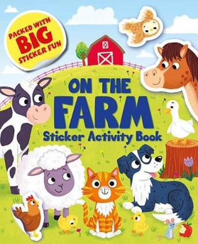 On the Farm Sticker Activity Book -