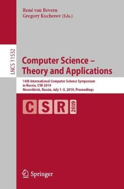 Computer Science - Theory and Applications - Rene van Bevern