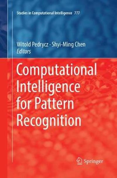 Computational Intelligence for Pattern Recognition - Witold Pedrycz