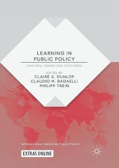 Learning in Public Policy - Claire A. Dunlop