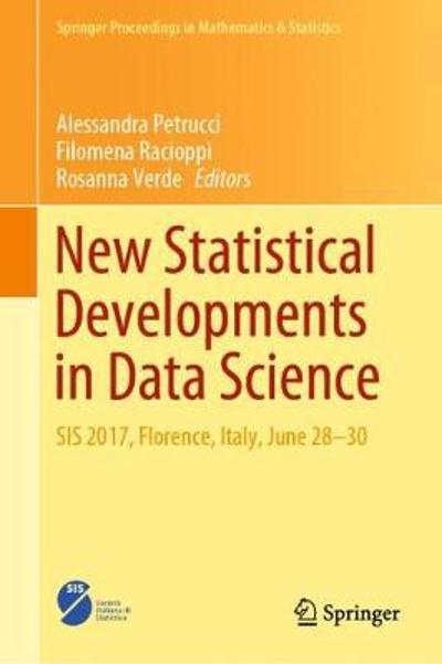 New Statistical Developments in Data Science - Alessandra Petrucci