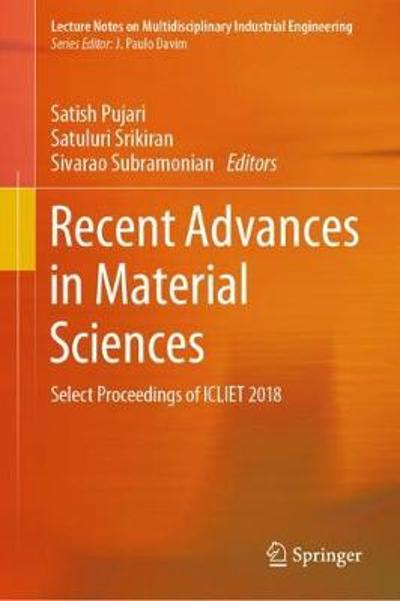 Recent Advances in Material Sciences - Satish Pujari