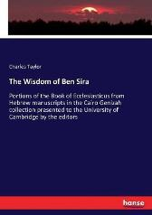 The Wisdom of Ben Sira - Charles Taylor