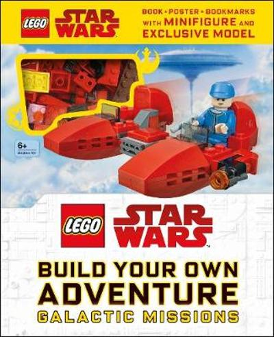 LEGO Star Wars Build Your Own Adventure Galactic Missions - DK