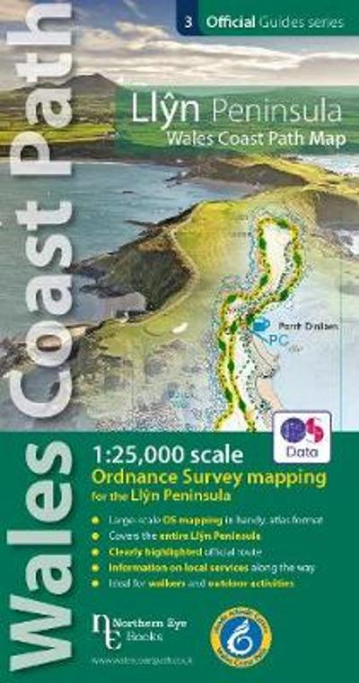Llyn Peninsula Coast Path Map -