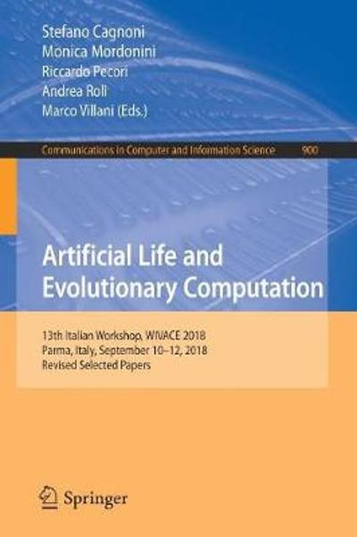 Artificial Life and Evolutionary Computation - Stefano Cagnoni