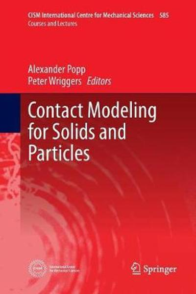 Contact Modeling for Solids and Particles - Alexander Popp