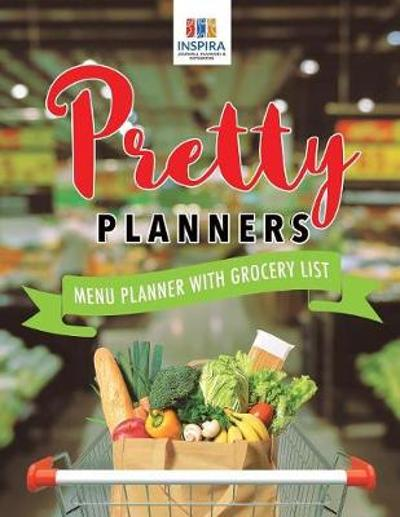 Pretty Planners Menu Planner with Grocery List - Planners & Notebooks Inspira Journals