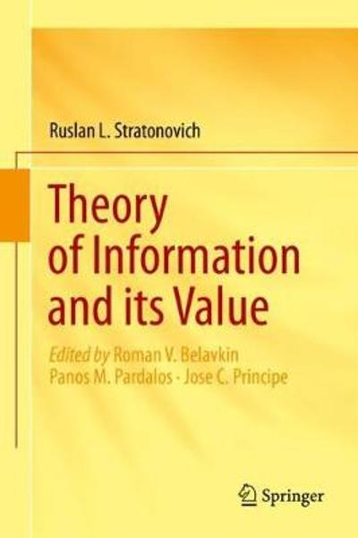 Theory of Information and its Value - Ruslan L. Stratonovich