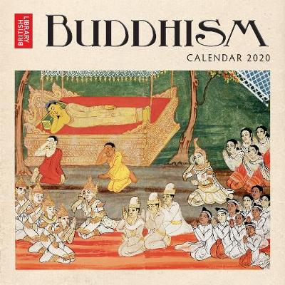 British Library - Buddhism Wall Calendar 2020 (Art Calendar) - Flame Tree Studio