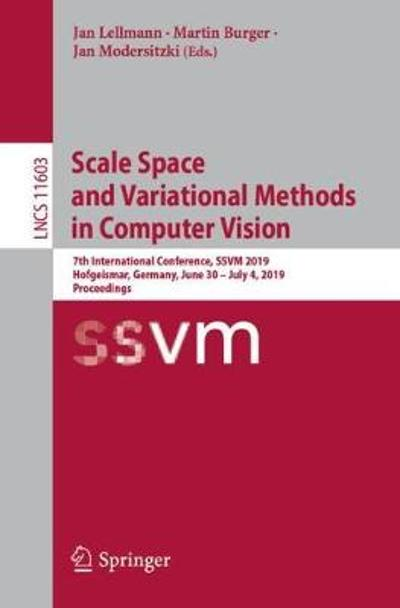 Scale Space and Variational Methods in Computer Vision - Jan Lellmann