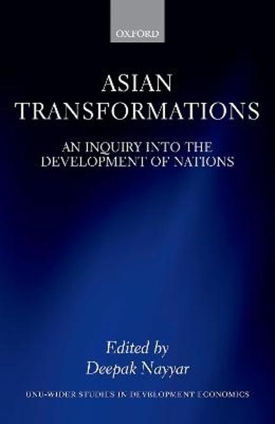 Asian Transformations - Deepak Nayyar