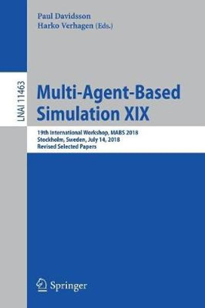 Multi-Agent-Based Simulation XIX - Paul Davidsson