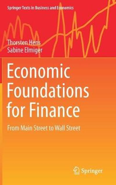 Economic Foundations for Finance - Thorsten Hens