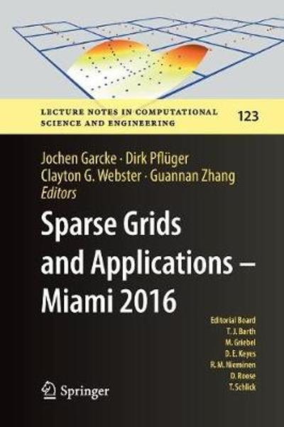 Sparse Grids and Applications - Miami 2016 - Jochen Garcke