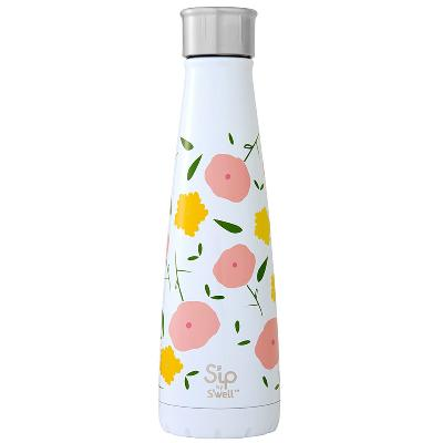 Drikkeflaske 450 ml Poppy Culture - S'ip by S'well