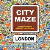 City Maze. London. Brettspill - Finn Valgermo Flu Hartberg