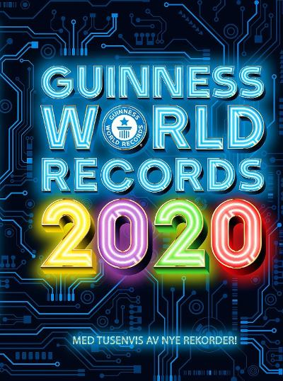 Guinness world records 2020 - Craig Glenday
