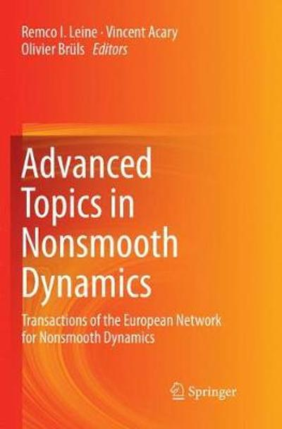 Advanced Topics in Nonsmooth Dynamics - Remco Leine