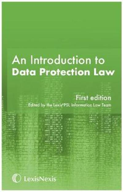 An Introduction to Data Protection -