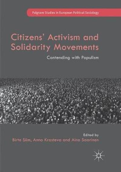 Citizens' Activism and Solidarity Movements - Birte Siim
