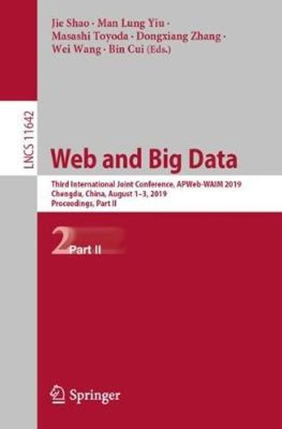 Web and Big Data - Jie Shao