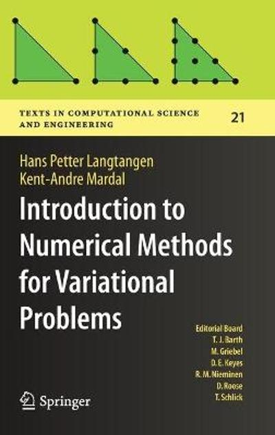 Introduction to Numerical Methods for Variational Problems - Hans Petter Langtangen